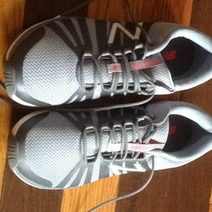 New Balance Fantom Tape gray Sz 11 worn once